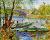 Fishing in the Spring, Pont de Clichy