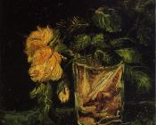Glass with Roses II